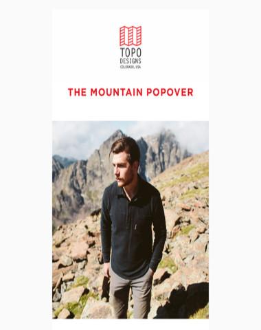 The Mountain Popover