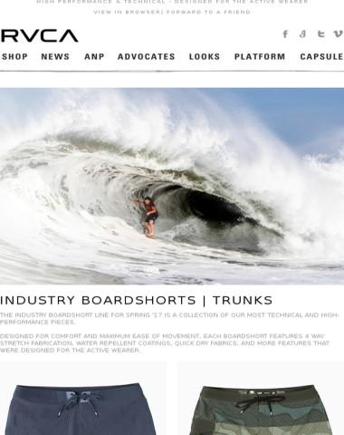 New Industry Boardshorts | Trunks