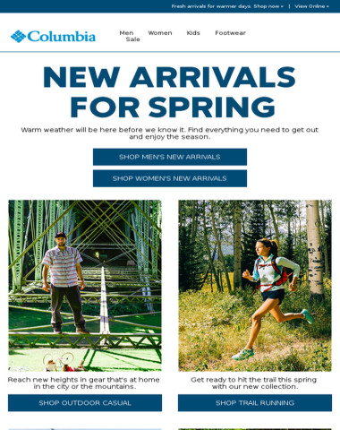 New spring gear just in!