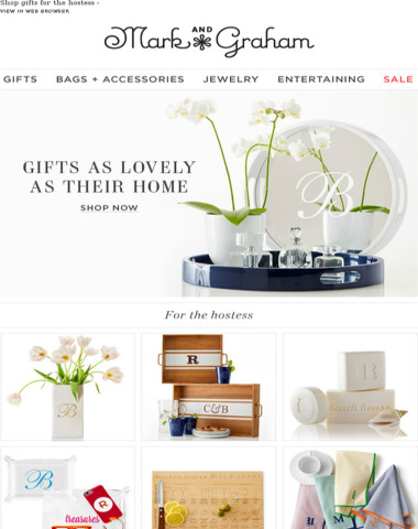 Gifts as lovely as their home!