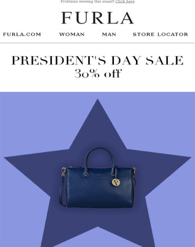 Happy President's Day | Enjoy 30% OFF