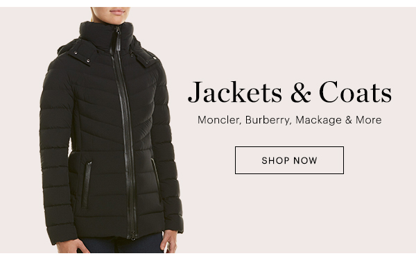 JACKETS & COATS, SHOP NOW