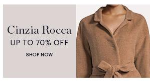 CINZIA ROCCA, UP TO 70% OFF, SHOP NOW