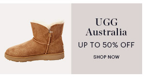 UGG, UP TO 50% OFF, SHOP NOW