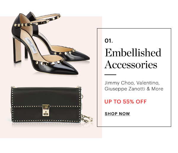 ACCESSORIES, UP TO 55% OFF, SHOP NOW