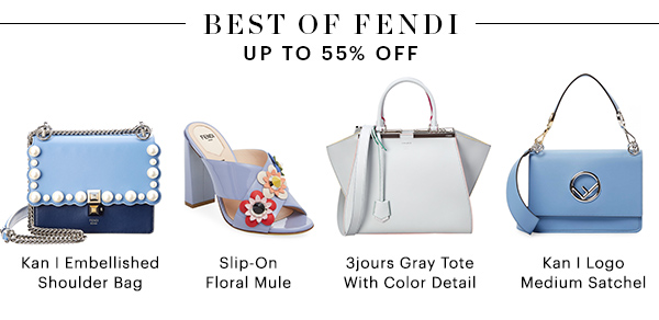 BEST OF FENDI, UP TO 55% OFF