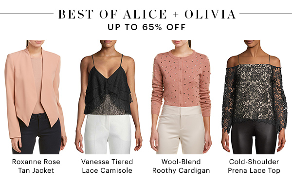 BEST OF ALICE & OLIVIA, UP TO 65% OFF