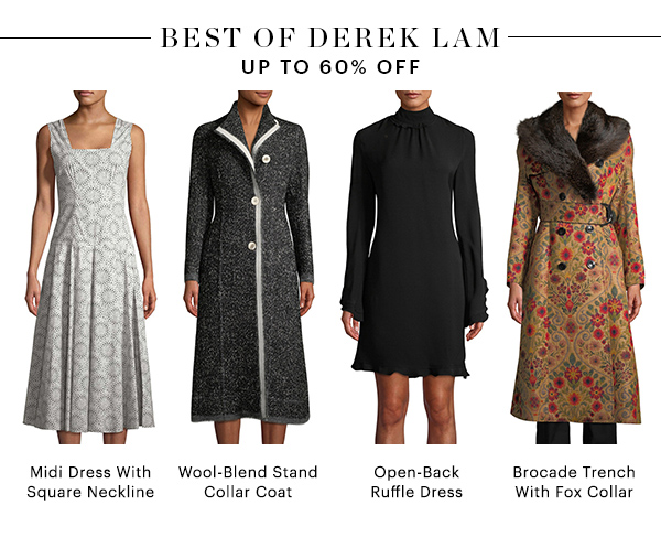 BEST OF DEREK LAM, UP TO 60% OFF