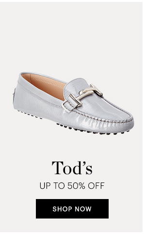 TOD'S UP TO 50% OFF