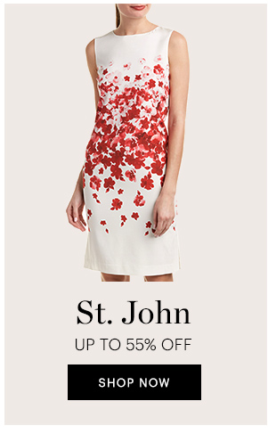 ST.JOHN UP TO 55% OFF