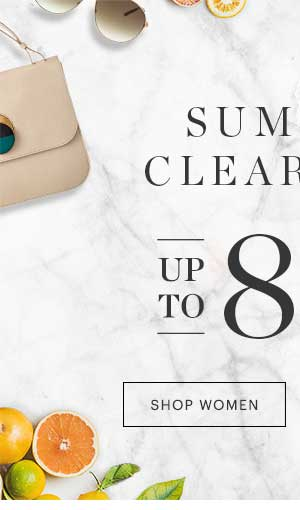 WOMEN'S SUMMER CLEARANCE, UP TO 85% OFF, SHOP NOW