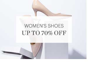 WOMEN'S SHOES, UP TO 70% OFF, SHOP NOW