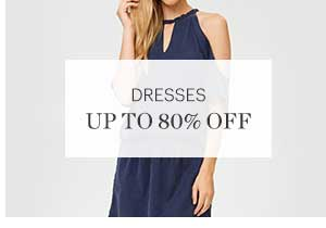 DRESSES, UP TO 80% OFF, SHOP NOW