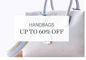 HANDBAGS, UP TO 60% OFF, SHOP NOW