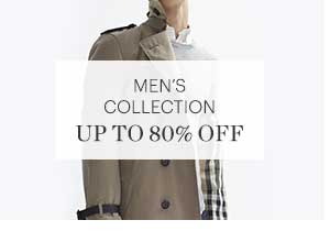 MEN'S COLLECTION, UP TO 80% OFF, SHOP NOW