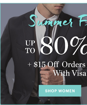 SUMMER FLING SALE, WOMEN'S UP TO 80% OFF, SHOP NOW