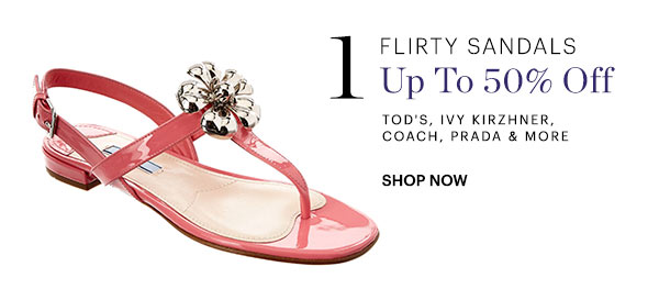 Flirty Sandals Up To 50% Off Shop Now