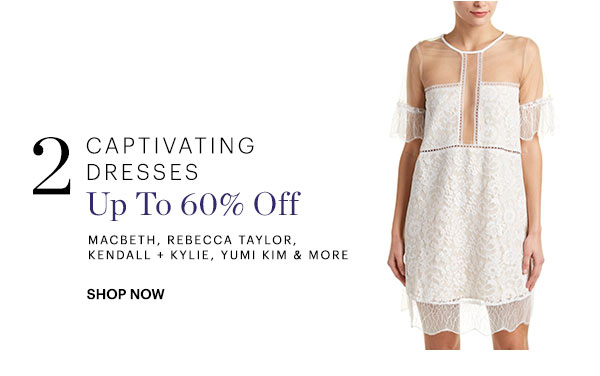 Captivating Dresses Up To 60% Off Shop Now