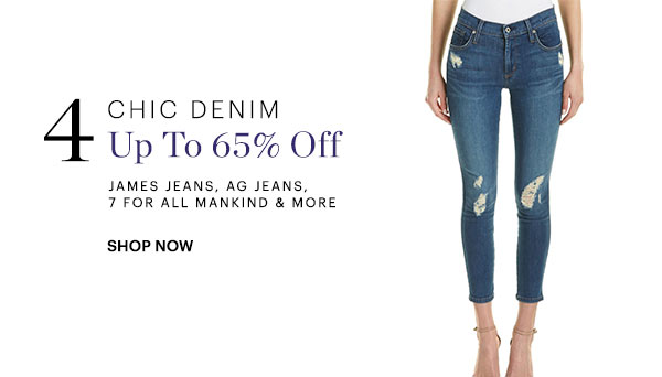 Chic Denim Up To 65% Off Shop Now