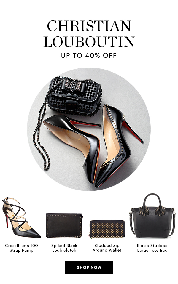 CHRISTIAN LOUBOUTIN, UP TO 40% OFF, SHOP NOW