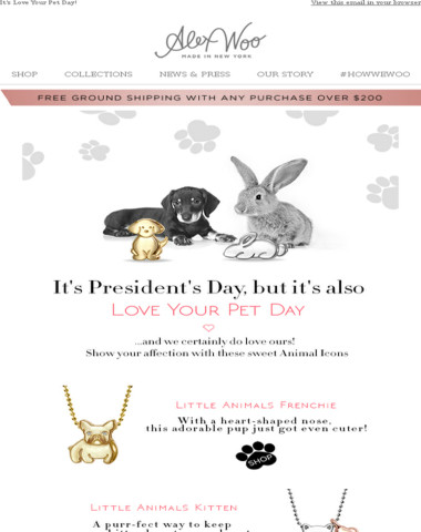 It's Love Your Pet Day!