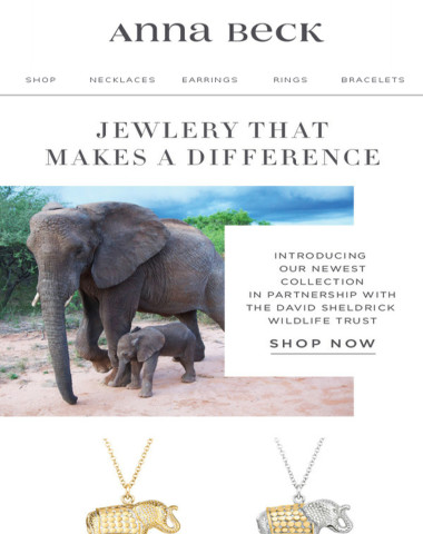 New Collection   Jewelry That Gives Back
