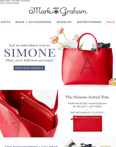 Let us introduce you to Simone {and over 100 new arrivals}!