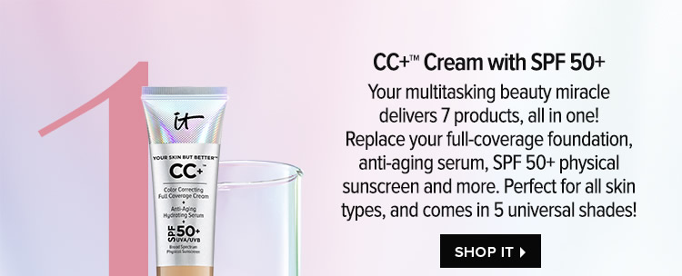CC+Cream with SPF 50+