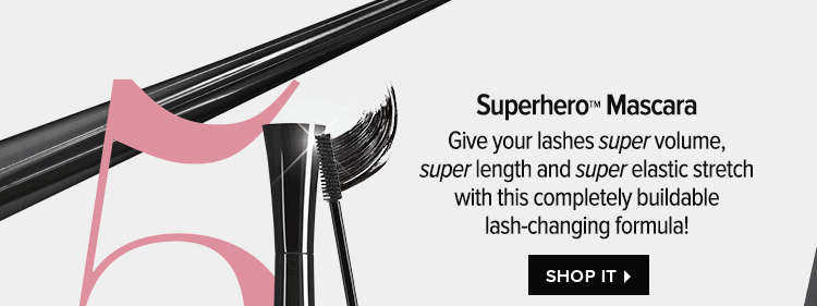 Superhero Mascara