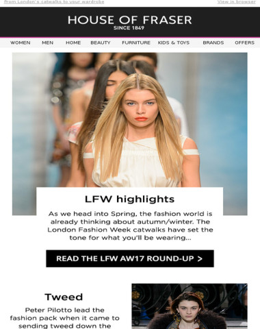 How to wear: LFW trends