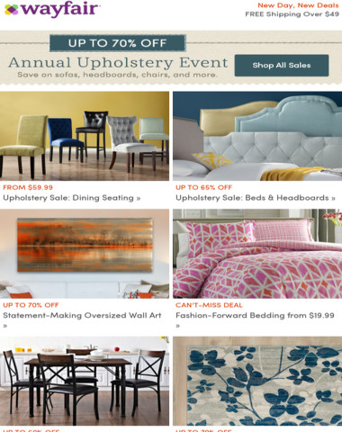 Upholstery Event: Dining seating from $59.99