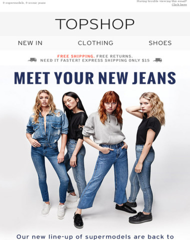 Meet your new jeans