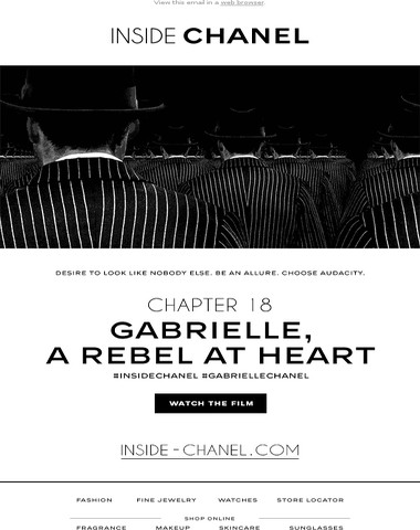 Chapter 18: Gabrielle, a rebel at heart