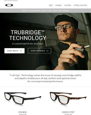 Oakley TruBridge™ | A customized fit for any face