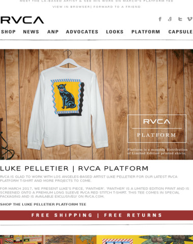 Introducing Luke Pelletier | RVCA Platform