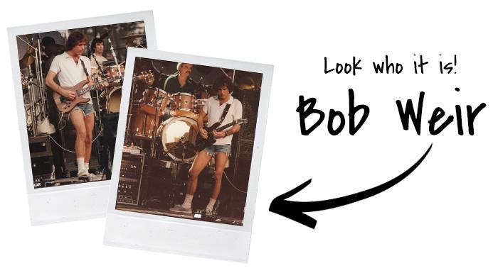 look who it is! bob weir