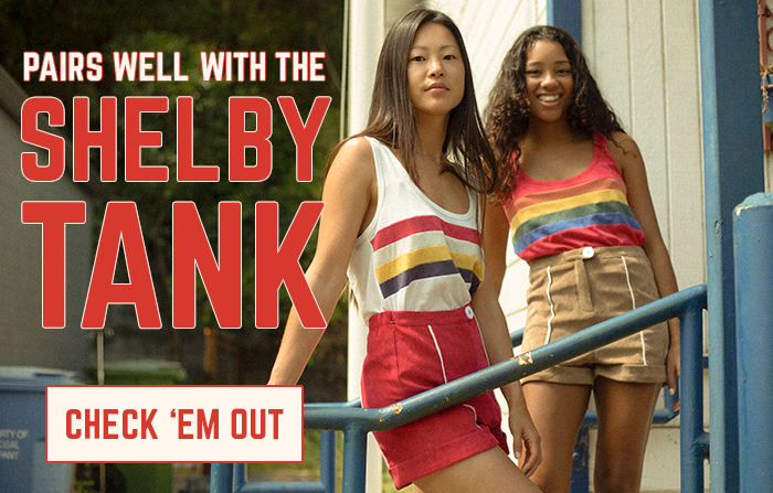 pair well with the shelby tank - check 'em out