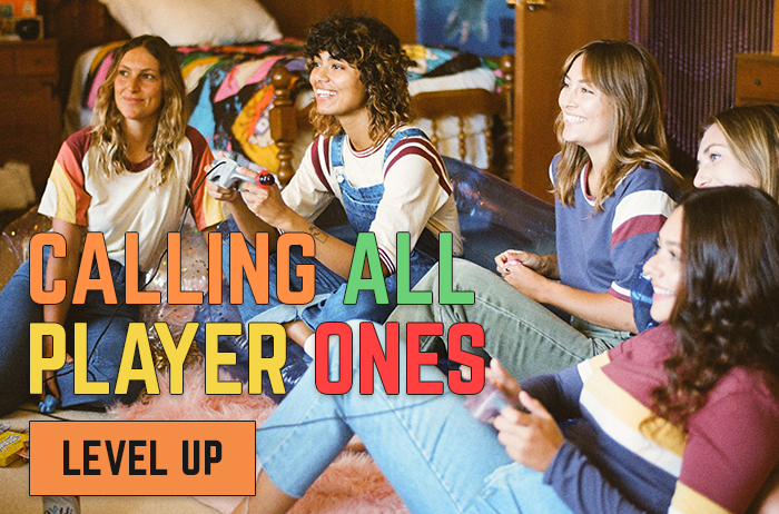 CALLIN ALL PLAYER ONES - LEVEL UP
