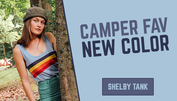 CAMPER FAV NEW COLOR - SHELBY TANK
