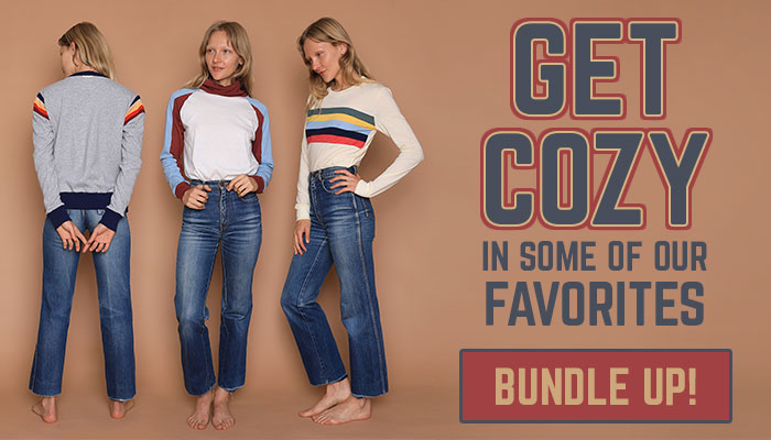 get cozy in some of our favorites - bundle up!