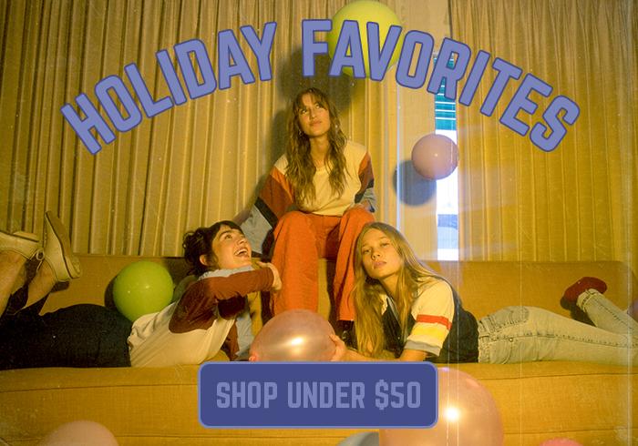 holiday favorites - shop under $50