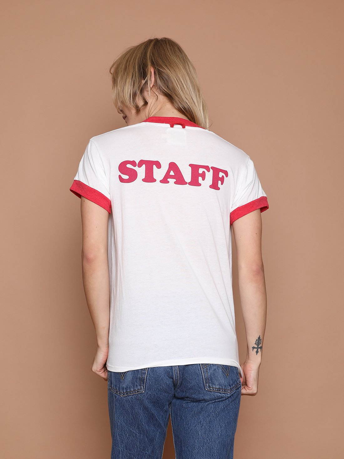 Image of Camp Staff Ringer Tee