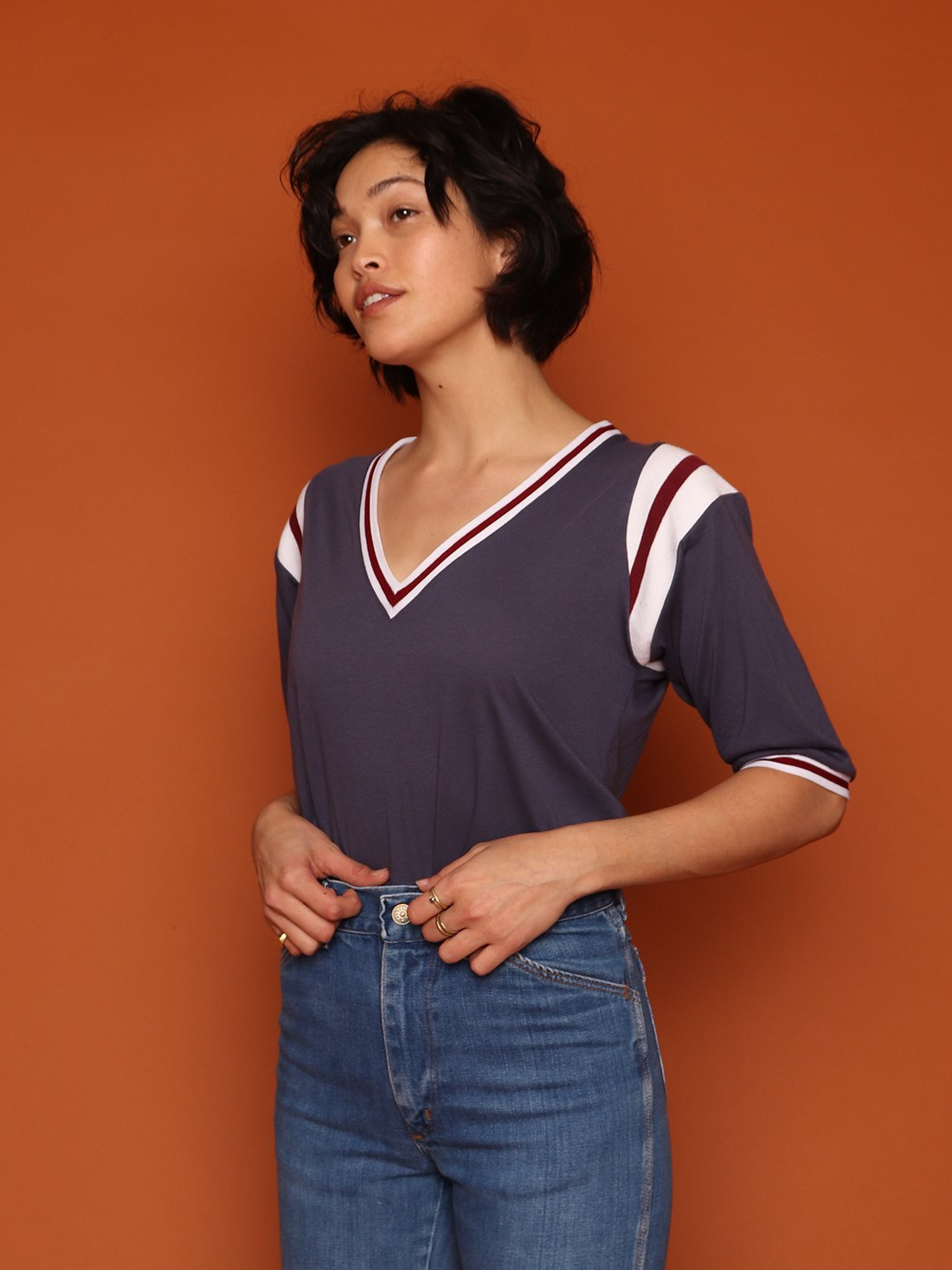 Image of ARCHIE TEE - NAVY