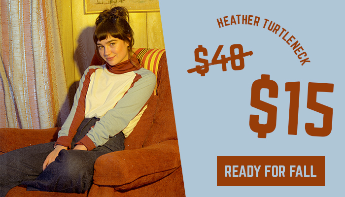 heather turtleneck - was $48 now $15