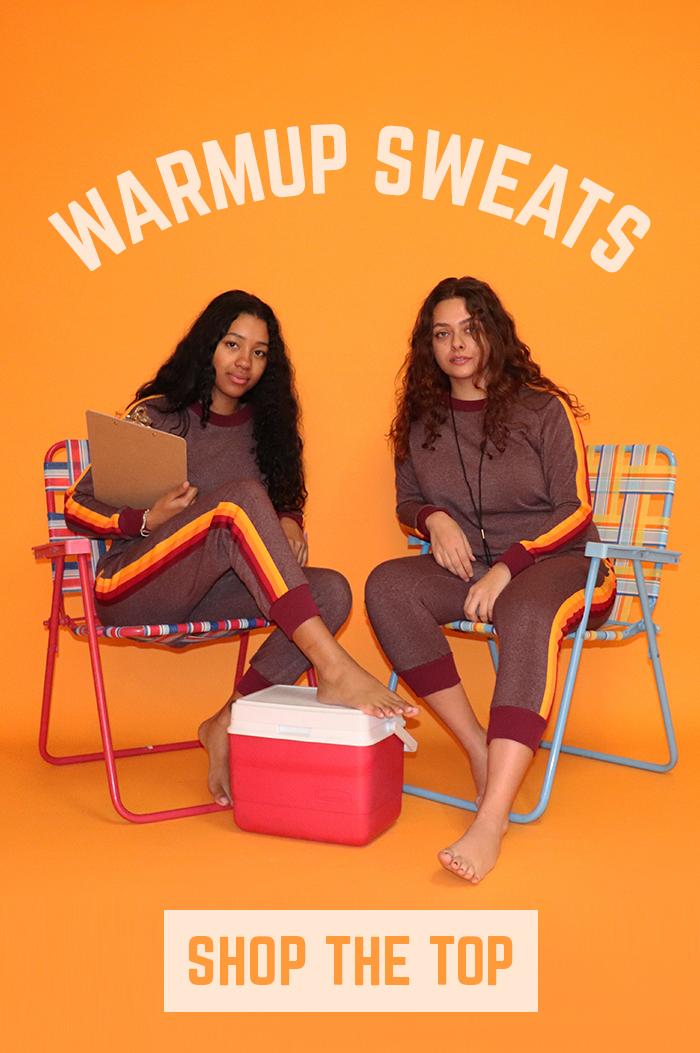 warmup sweats-shop the top