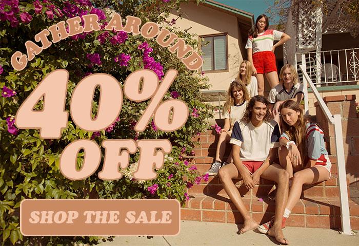 40% off - black friday sale