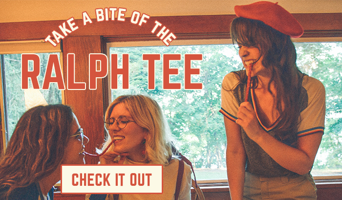 take a bite of the ralph tee - check it out