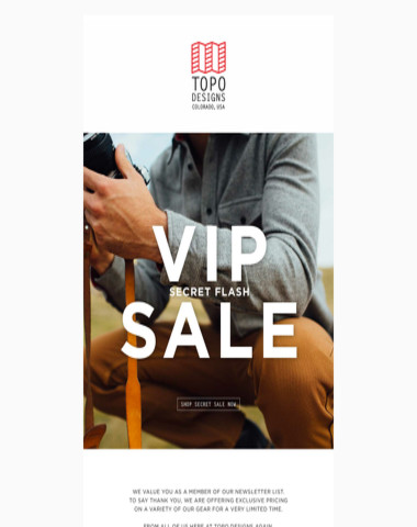 VIP Secret Flash Sale
