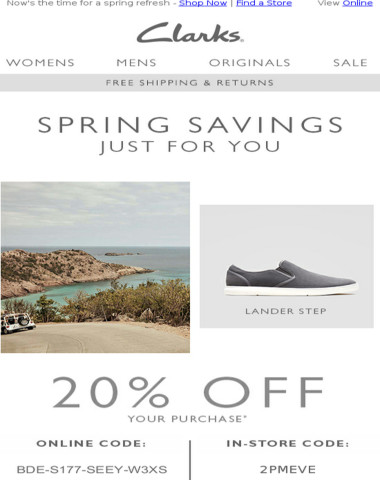 Your 20% OFF code is waiting