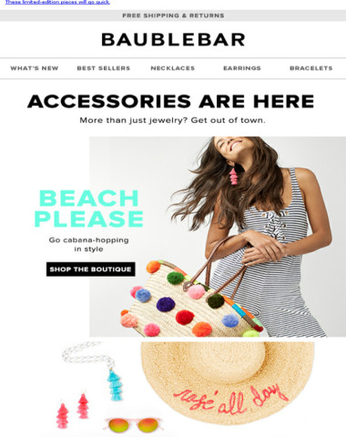 Our accessory shop is open!